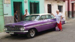 Que visitar en Cuba auto clasico americano