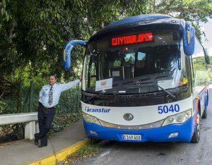 Cuba specialist chauffeur bus