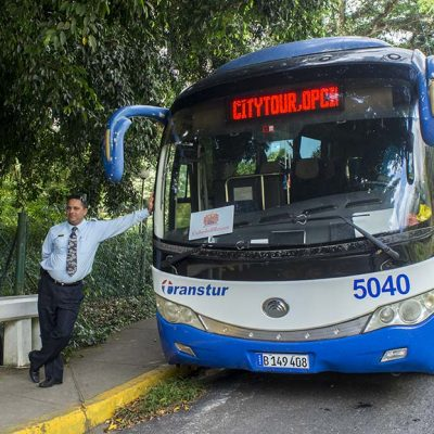 Chofer del bus