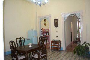 Casas particulares dining room Cienfuegos