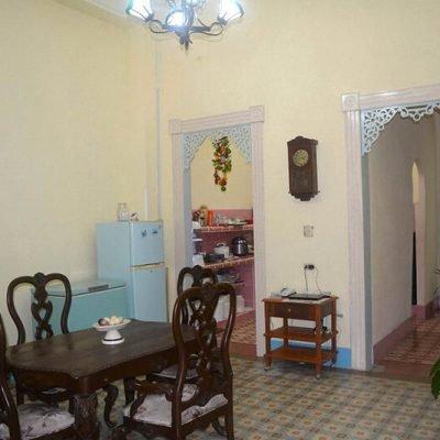Cuba casas particulares comedor en Cienfuegos