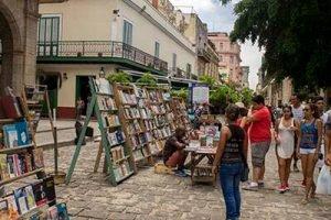 Cuba programas cortos Andar La Habana libreria