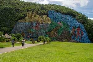 Cuba bouwstenen Mural de la Prehistoria