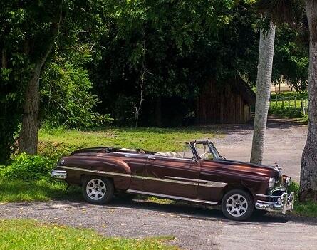 Cuba Viajes Información práctica auto clásico en Vinales