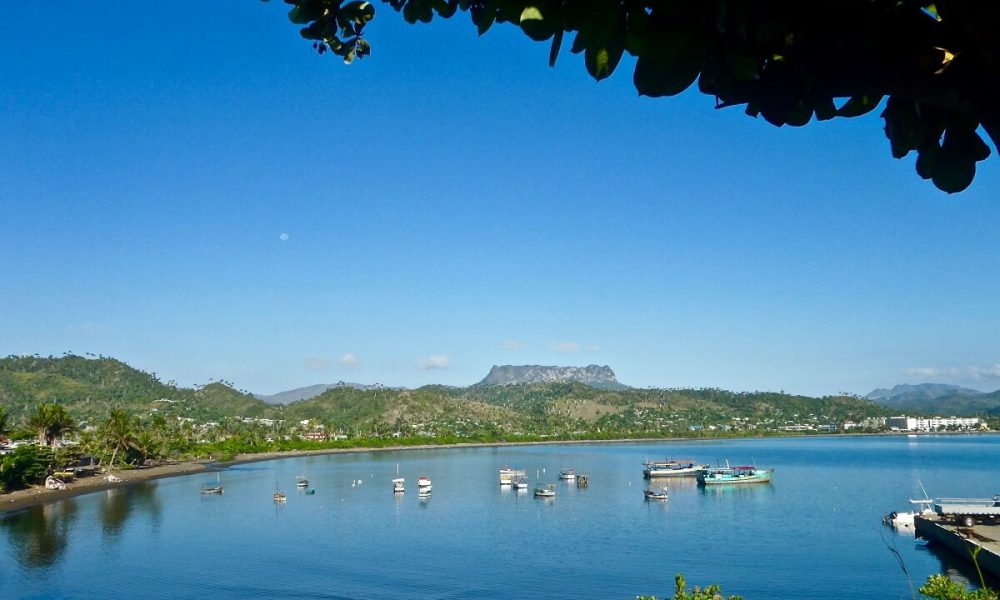 Cuba sites of interest Baracoa bay