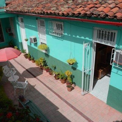 Cuba Viajes circuitos La otra mitad de Cuba casa particular Camaguey - Casa Aleida patio