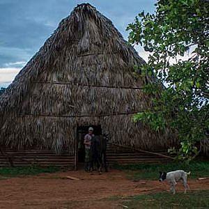 Cuba sitios de interés Viñales casa de tabaco