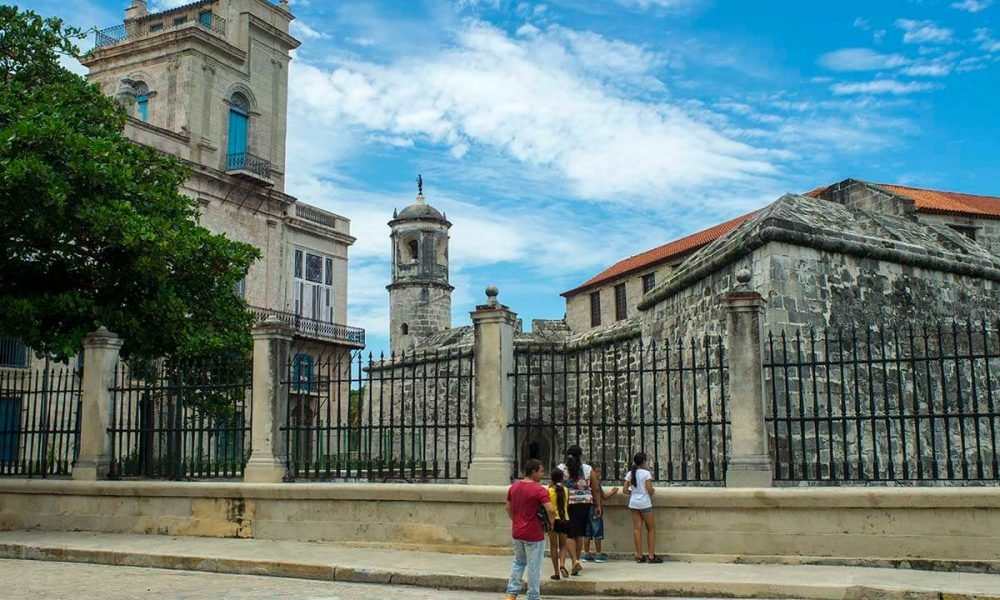 Cuba sites of interest Havana Castle La Punta