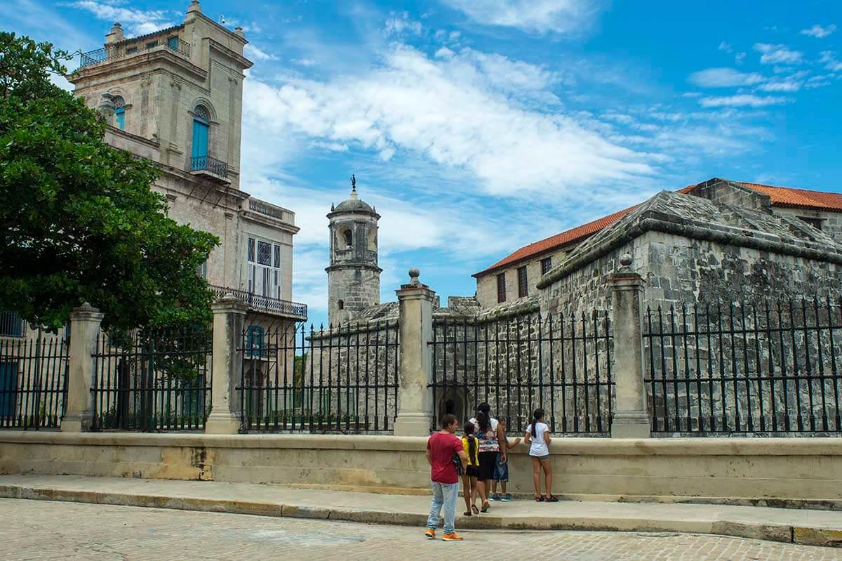 Cuba bezienswaardigheden Havana Castillo La Punta
