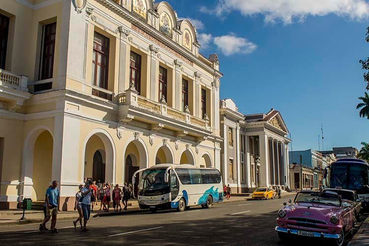 Cuba sitios de interes Cienfuegos Teatro Terry