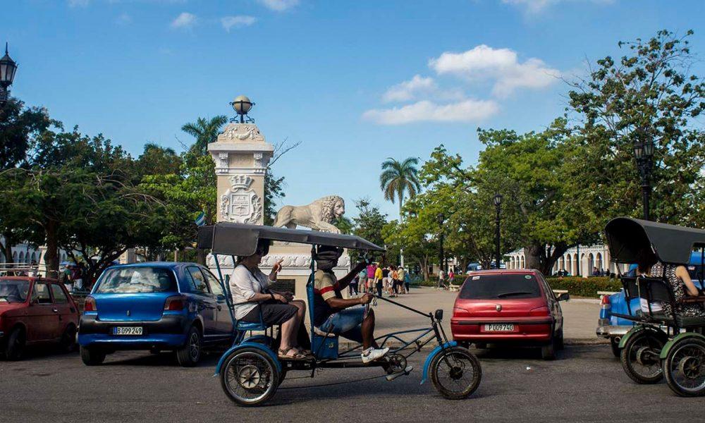 Cuba sitios de interés cienfuegos Parque Martí en Cienfuegos