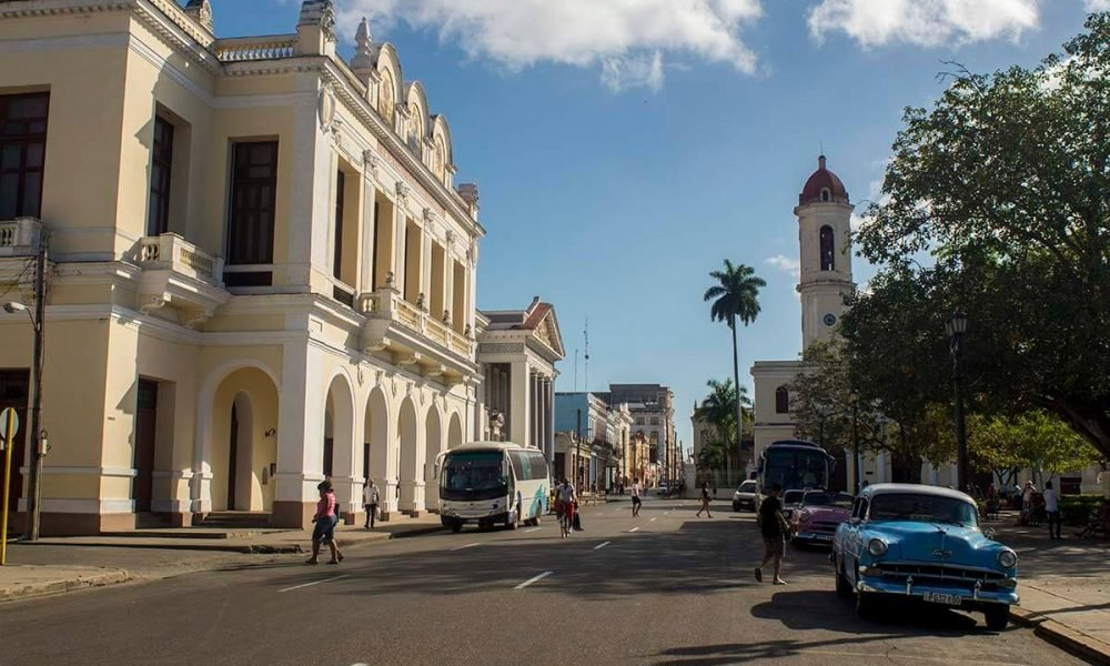 Cuba sites of interest Cienfuegos Center Terry Theater