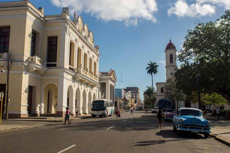 Cuba bezienswaardigheden Cienfuegos Centrum Terry Theatre