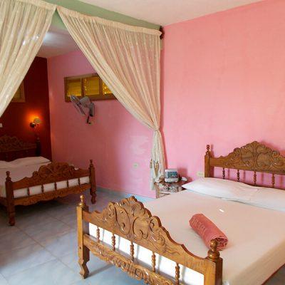 Casas particulares slaapkamer Trinidad doublé bed