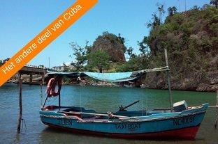 Cuba rondreis Het andere deel van Cuba boot