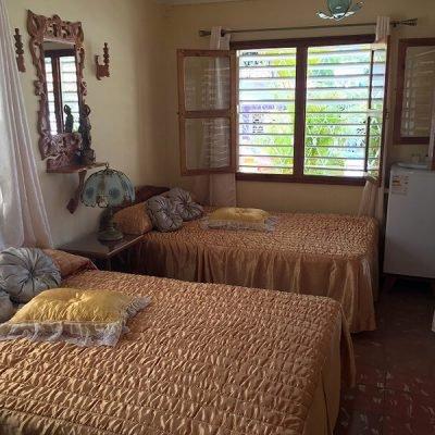 Cuba Casas particulares dormitorio Vinales