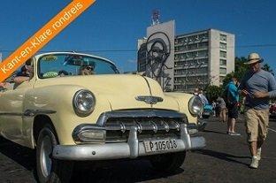 Cuba vakantie rondreis oldtimers Plaza Revolucion 1
