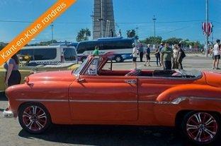 Cuba vakantie rondreis oldtimers Plaza Revolucion 2