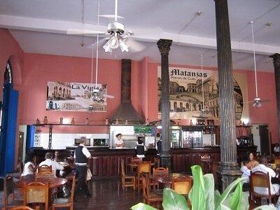 Cuba programas cortos Matanzas Especial cafeteria