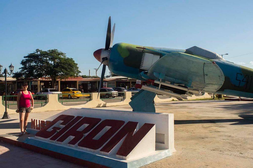 Cuba sitios de interés en Playa Girón museo de Playa Giron