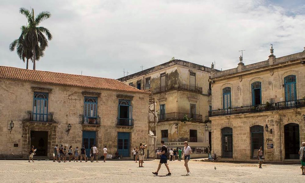 Cuba sites of interest Havana Old square