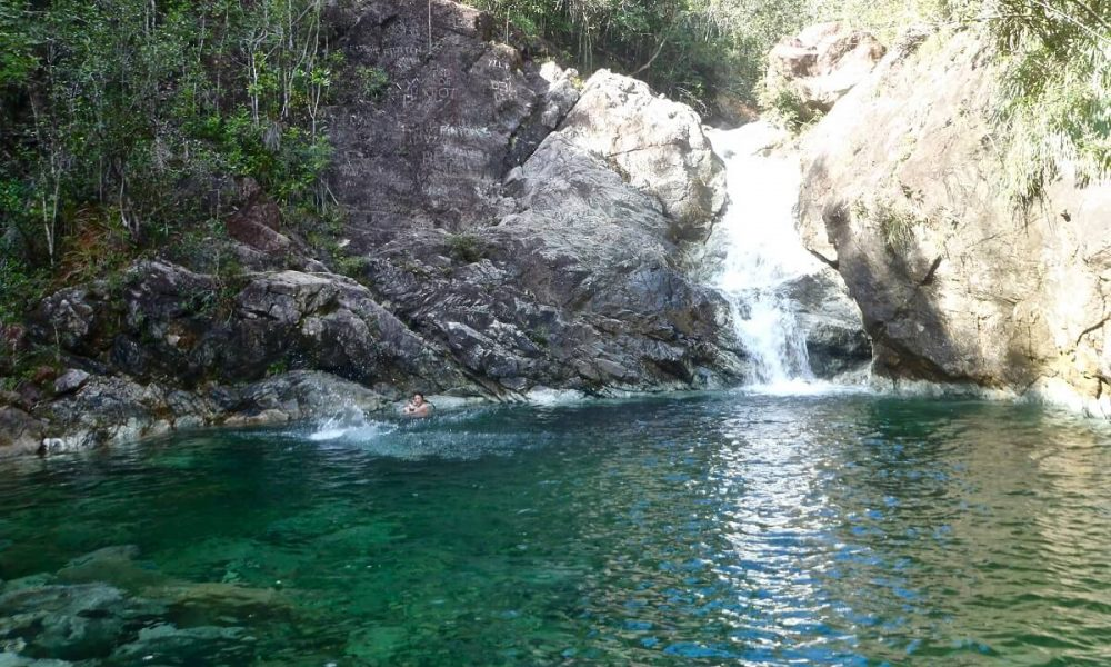 Cuba sites of interest Baracoa waterfall