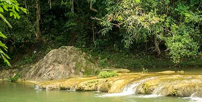 Viajar a Cuba con niños Las Terrazas Rio San Juan