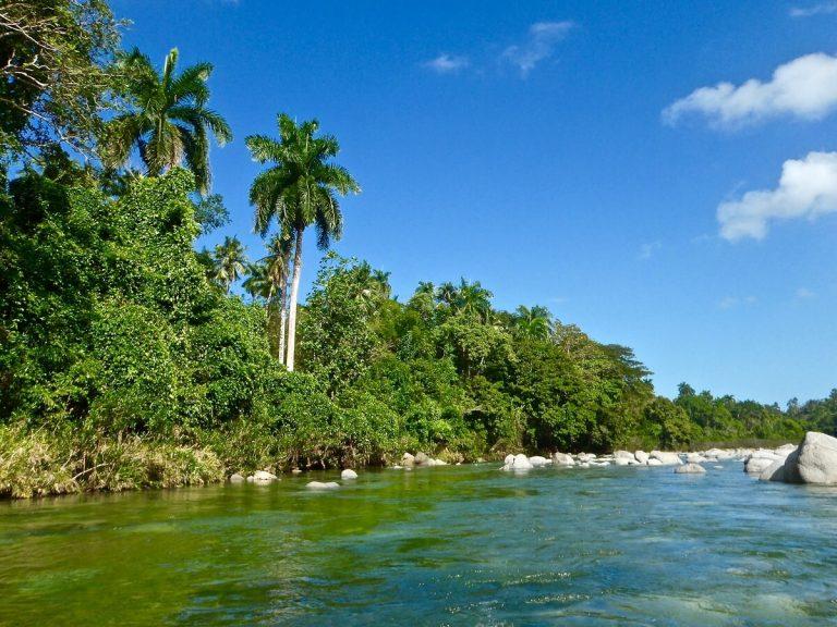Cuba bezienswaardigheden Baracoa rivier
