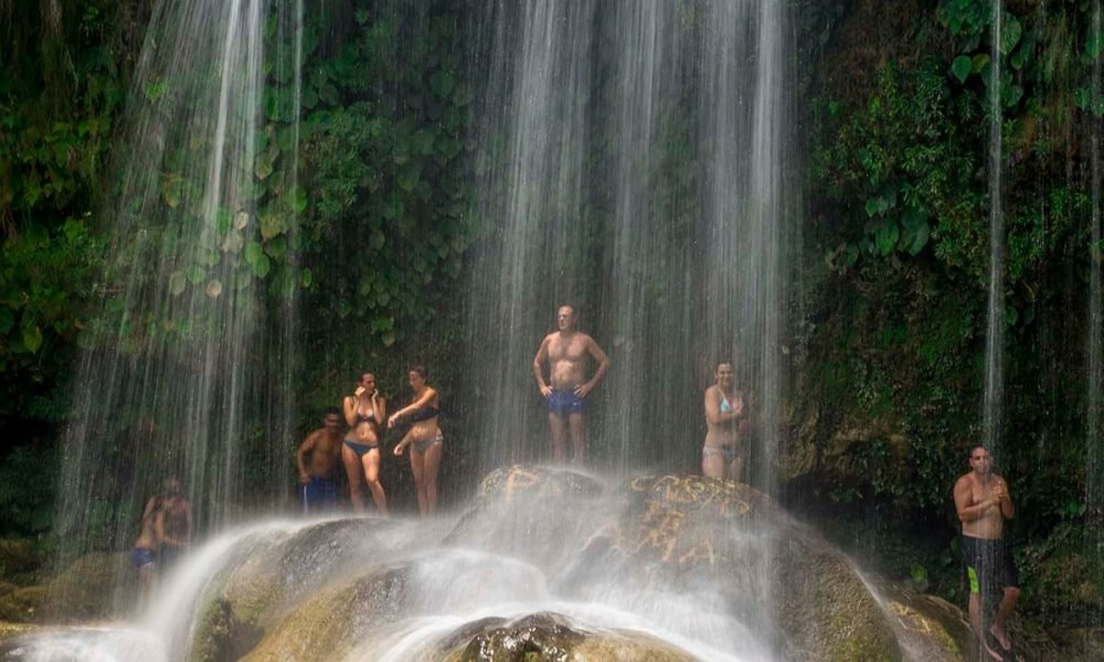 Cuba sites of interest Soroa - Las Terrazas waterfall