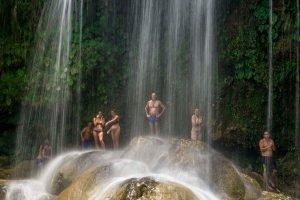 Cuba sitios de interes Soroa - Las Terrazas la cascada de Soroa - Las Terrazas