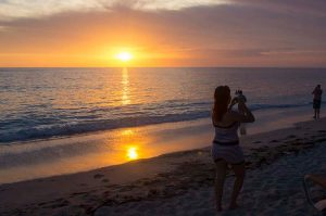 Cuba sites of interest Playa Giron sunset