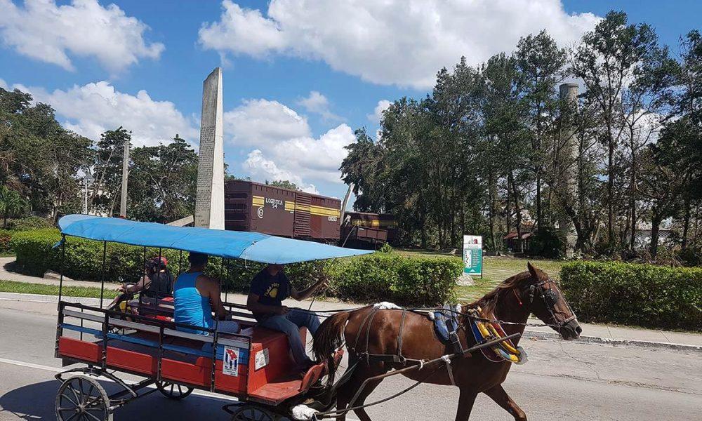 Cuba bezienswaardigheden Santa Clara paard