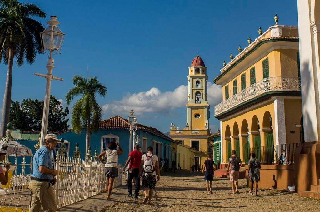 Cuba bezienswaardigheden Trinidad centrum