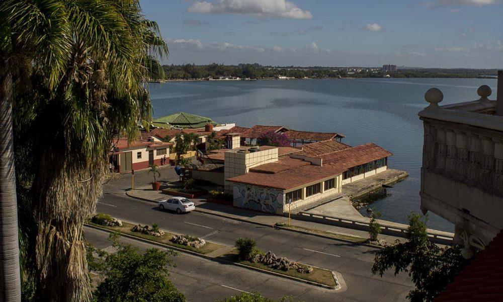 Cuba sitios de interés cienfuegos hermosa vista al mar en Cienfuegos