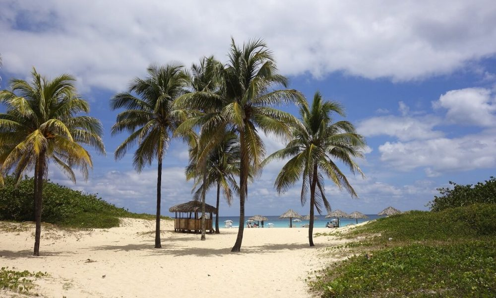 Cuba sites of interest Varadero beach white sand
