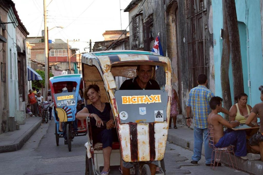 Cuba sitios de interes Camaguey bicitaxi en Camaguey