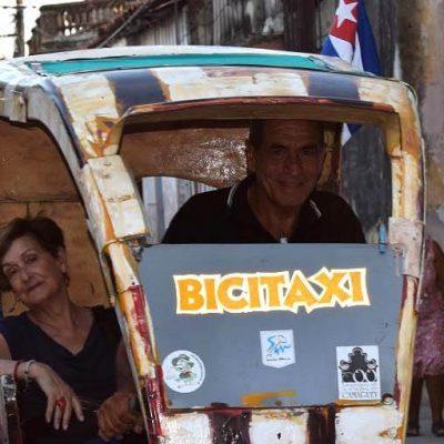 Cuba sitios de interes Camaguey Bicitaxi