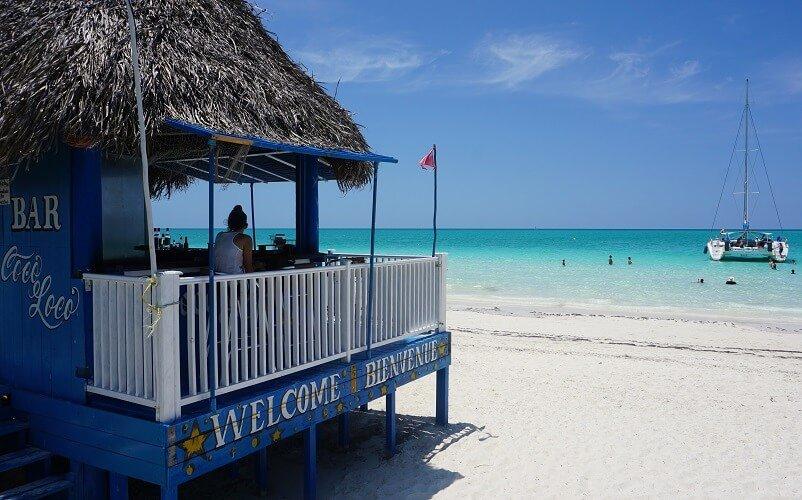 Cuba bezienswaardigheden Moron strand Pilar