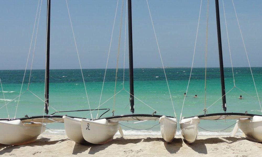 Cuba sites of interest Varadero beach boat