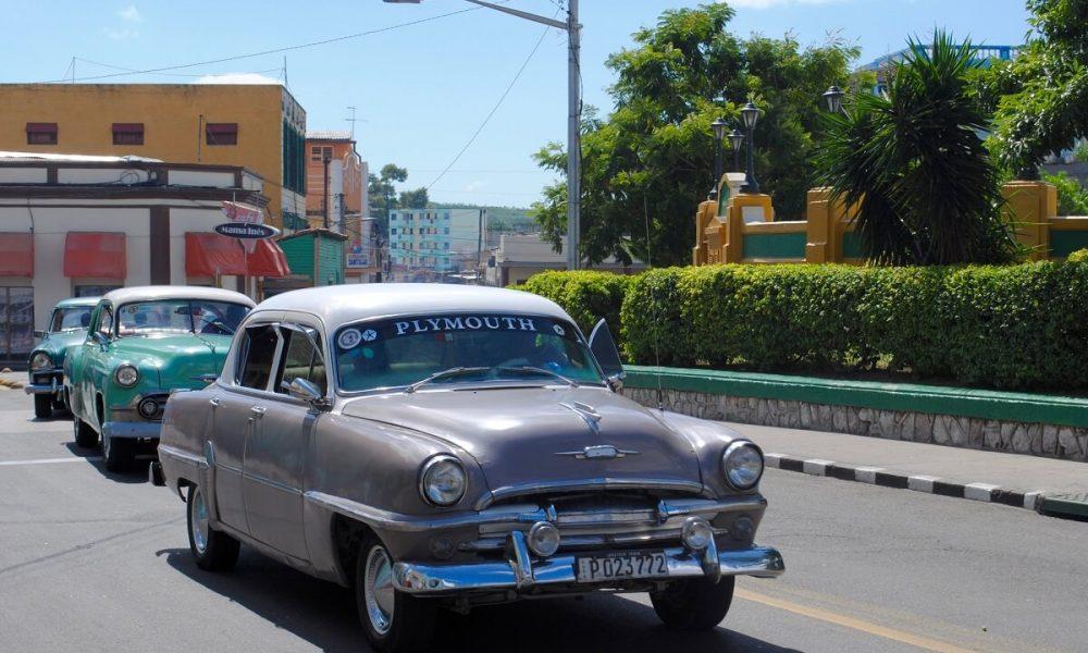 Cuba sites of interest Santiago de Cuba oldtimer