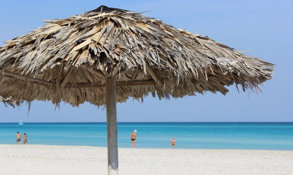 Cuba sites of interest Varadero beach blue water