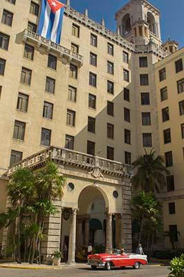 Cuba salsa rondreis Nacional hotel