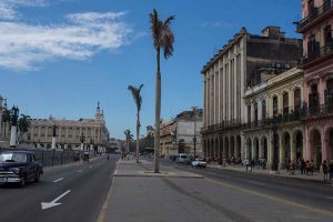 Cuba fotografie rondreis Capitool straat