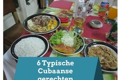 Cubaanse gerechten portada