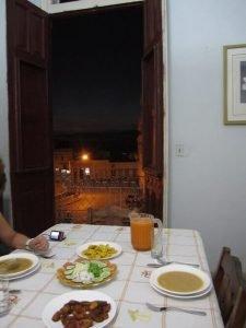 Cubaanse gerechten ajiaco