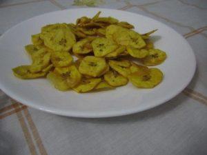 Cubaans gerechten gebaken banaan