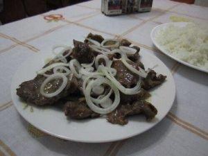 Cubaanse gerechten varkensvlees