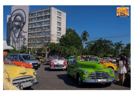 cuba bezoek revolutie plein