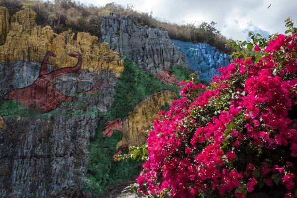 Viñales Cuba Mural de la Prehistoria