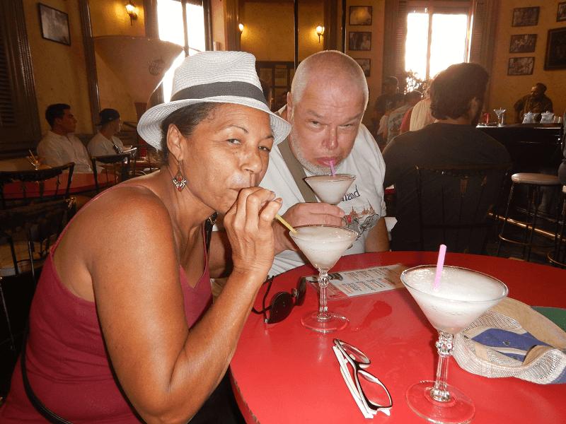 reis cuba vrouw floridita
